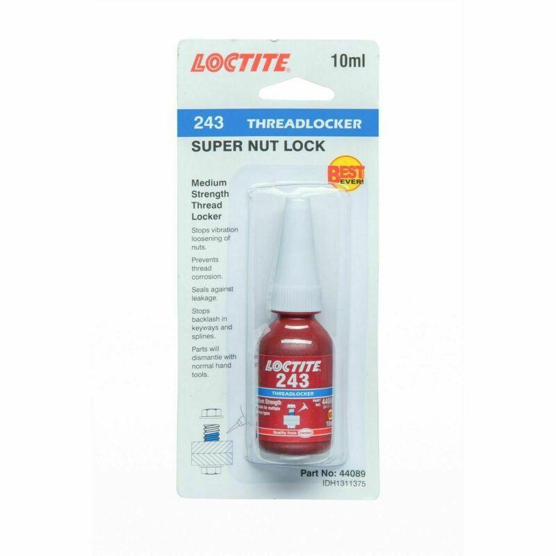 Loctite 243 10ml Adhesive Threadlocker - Germany Brand
