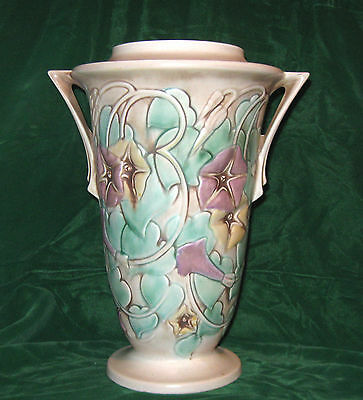 Roseville Morning Glory Vase   731 12