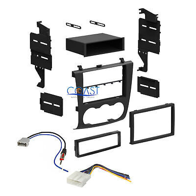 Car Radio Stereo Single Double DIN Dash Kit Harness for 2007-2012 Nissan Altima  ()