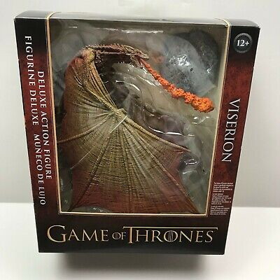McFarlane Toys HBO GAME OF THRONES Viserion DRAGON Deluxe Action Figure SEALED!