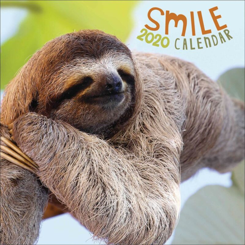Smile+2020+Official+Square+Wall+Calendar