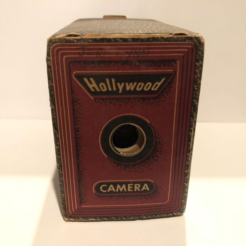 Vintage Hollywood Camera Encore Camera Co CA Disposable Box Untested