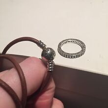 PANDORA RING & WRAP AROUND BRACELET/NECKLACE Victoria Point Redland Area Preview