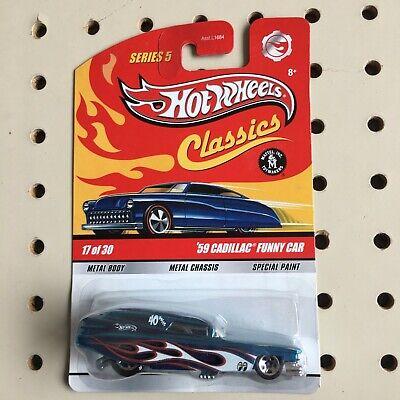Hot Wheels Classics Series 5 '59 Cadillac Funny Car