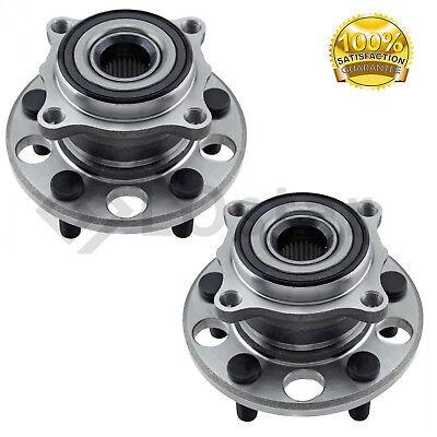 Pair(2) Rear Wheel Hub & Bearing Assembly Fits 05-12 Acura RL 09-13 Acura TL