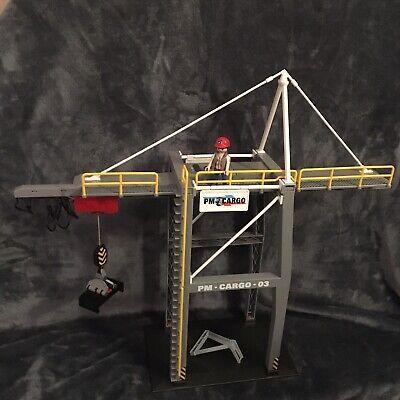Playmobil 5253 City Action Loading Motorised Crane PM-Cargo-03 Geobra