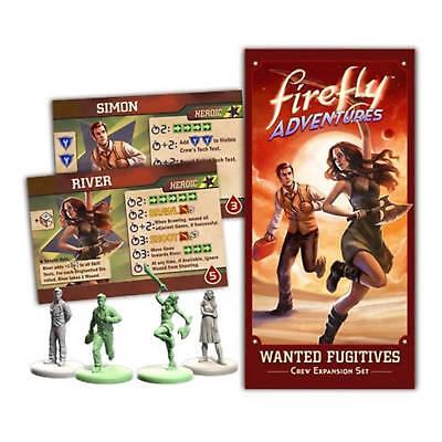Firefly Spielzeug (Firefly Abenteuer Wanted Fugitives Crew Erweiterung Set Simon & Fluss FADV03)