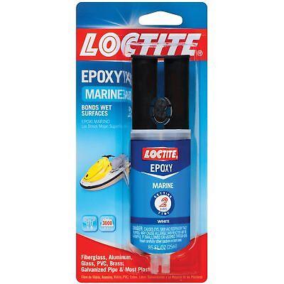 Loctite Marine Epoxy .85 Fl. Ounce Syringe White 8-pack 191324-8