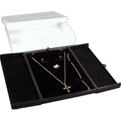 - Earring Ring Necklace Bracelet Combo Gift Box Jewelry Display 5 5/8
