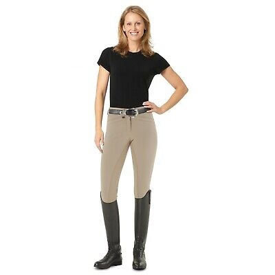 Ovation Celebrity EuroWeav DX Front Zip Full Seat Breeches - Colors/Sizes -SALE!