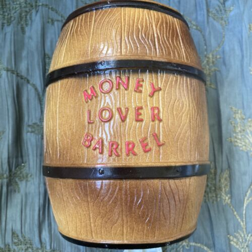 VTG 70s Money Lovers Barrel Bank Mystery Science Theatre MST3K Tom Servo Part