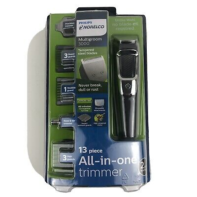 Philips Norelco Men Hair Clipper Electric Shaver Trimmer Haircut Grooming Kit
