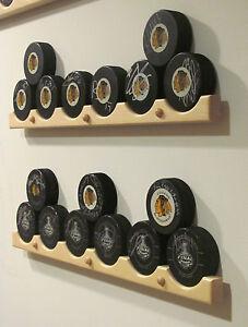Hockey Puck Display Holder / Rack Case (6)