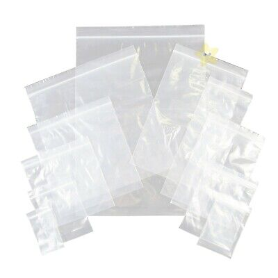 2000 x Grip Seal Resealable Poly Bags 3