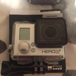 Selling Go Pro 3+ Silver with Go Pro accessories Thornlie Gosnells Area Preview