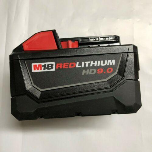 Genuine Milwaukee 48-11-1890 M18 XC 9 amp Red Lithium High Demand Battery NEW