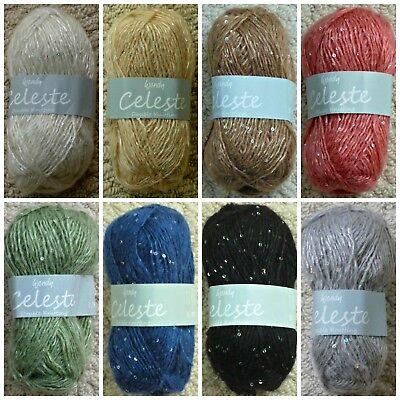 3334 VAPOUR Wendy Celeste DK Knitting Wool Yarn 50g
