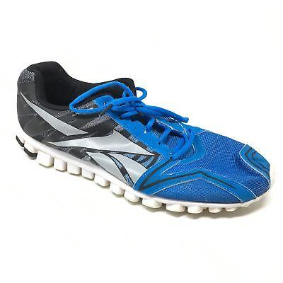 reputable site abbee 9c779 Men s Reebok RealFlex Shoes Sneakers Sz 12 Running Training Blue Black Gray  AB13