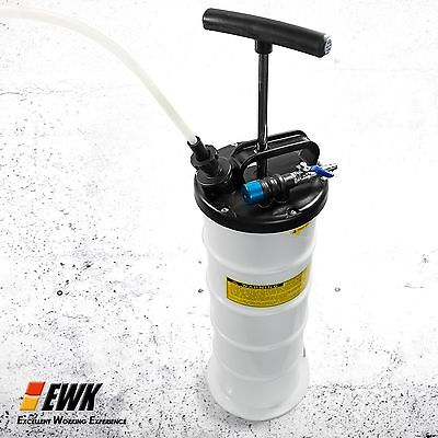 EWK Manual 6.5Liter Oil Changer Vacuum Fluid Extractor Pump Tank Remover New