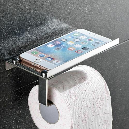 Edelstahl 304 Toilettenpapierhalter Papierhalter WC Rollenhalter Klopapierhalter