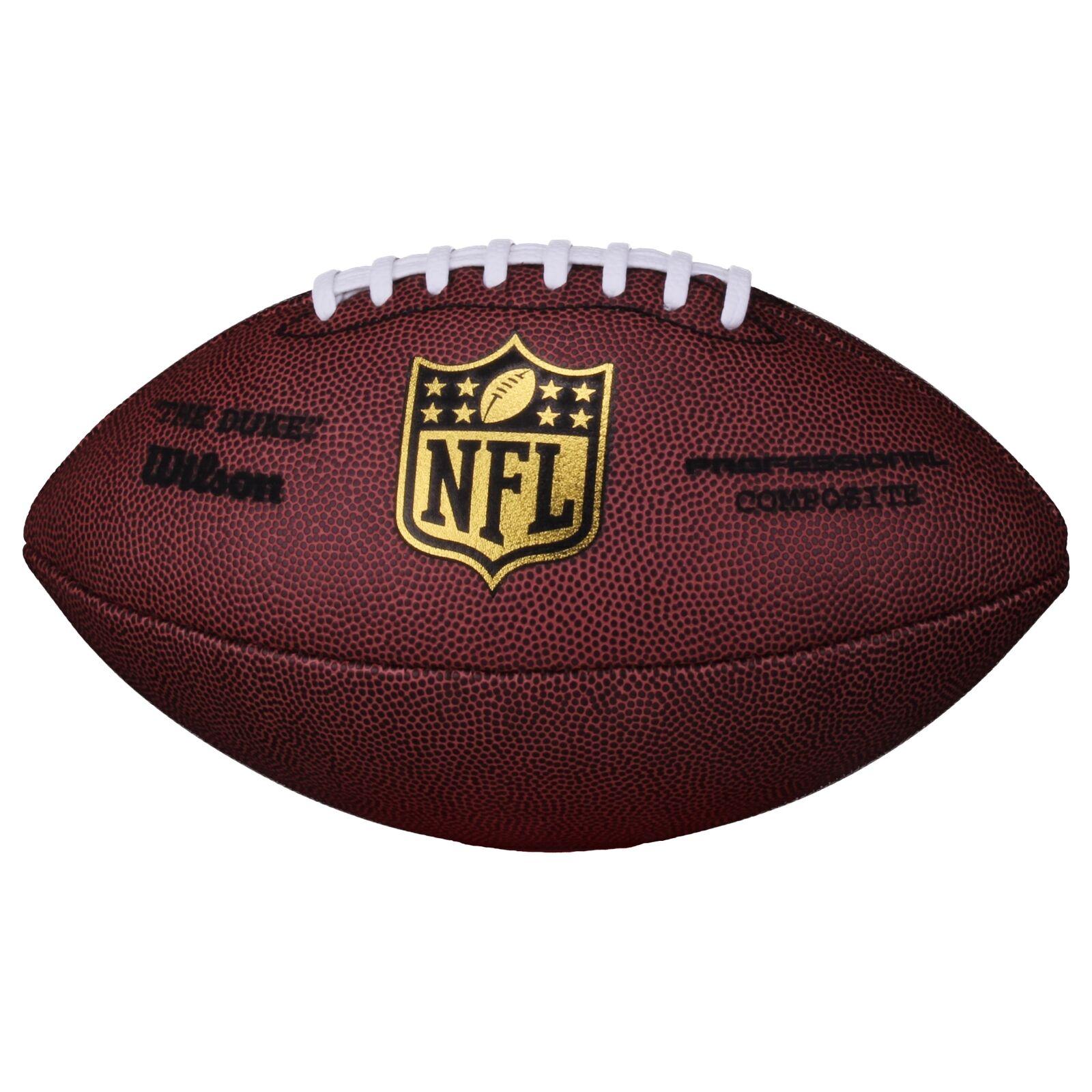 Wilson Football NFL Game Ball The Duke Replica, SC, Rot, Senior, WL0206121141