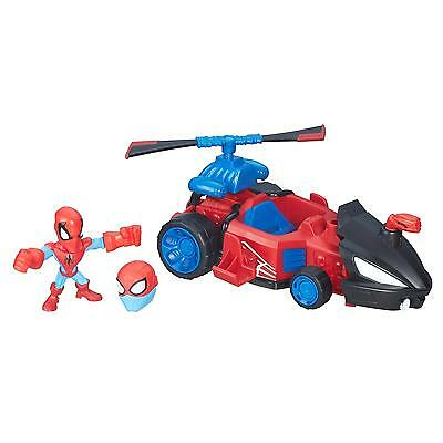 Marvel Super Hero Mashers Spider Man Speeder Vehicle And Figure