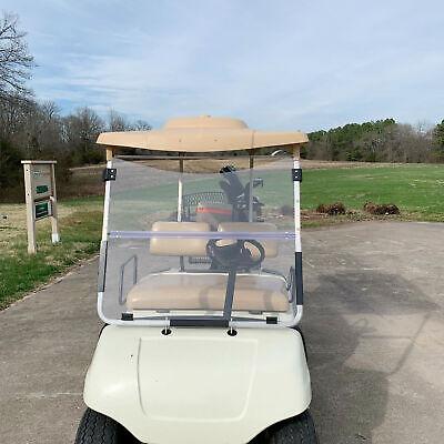 Folding Clear Windshield Golf Cart For Yamaha G22 2003-2006 Acrylic