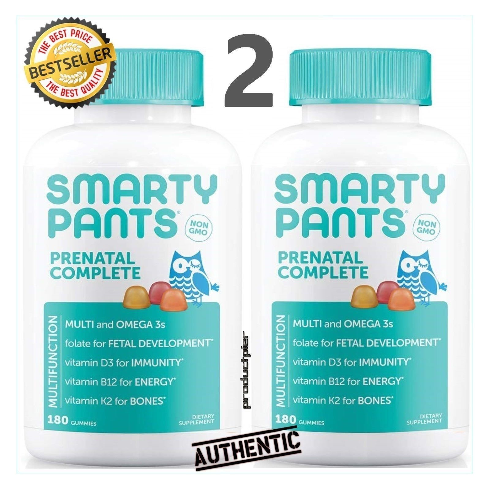 SmartyPants Prenatal Vitamins - Gummies - 180 Count