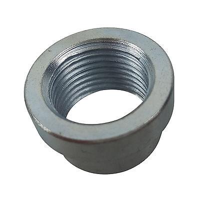 O2 Sensor Bung Nut STEPPED M18 X 1.5 18mm x 1.5 Weld fits 063-50 Mild Steel