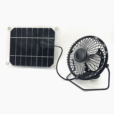 Solar Fan 4W Usb Ventilator Power For Cooling Free Green Energy From Sun