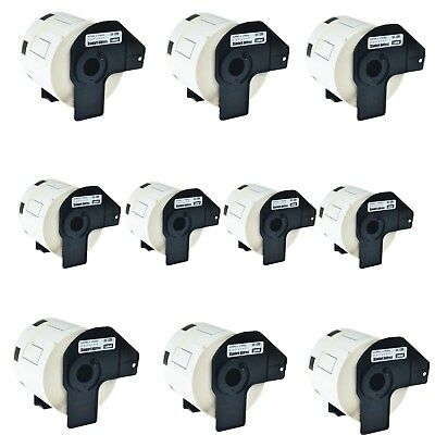 10roll Dk-1209 Dk1209 Address Labels For Brother Ql-570 1050 570vm 720nw 710w