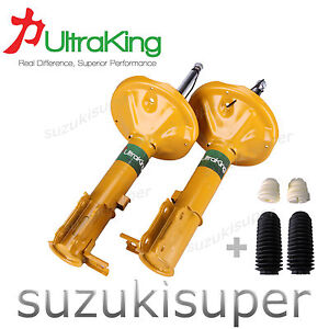 2-Rear-Struts-Hyundai-Accent-LC-LS-Sedan-Hatchback-Shock-Absorbers-6-00-4-06