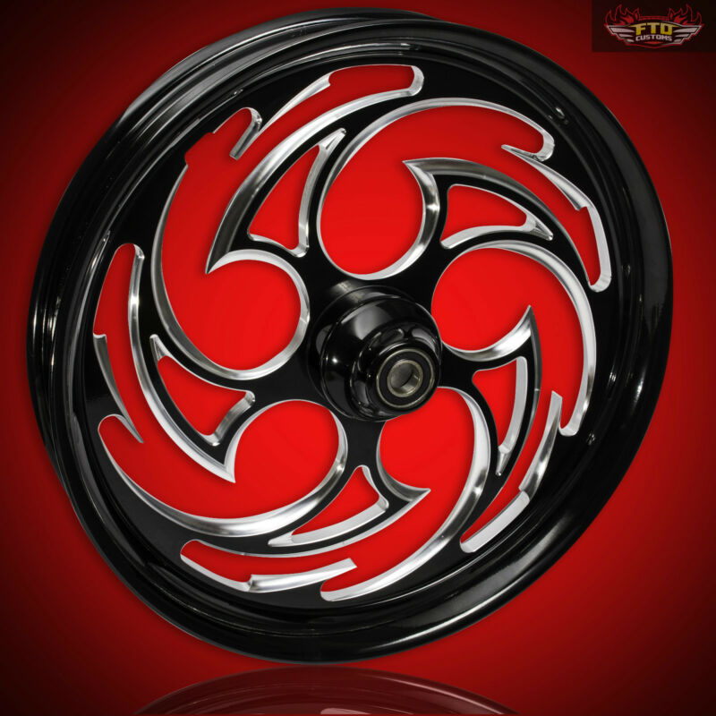 "Harley Davidson Street Glide 30"" Inch Custom Front Wheel By Ftd Customs"