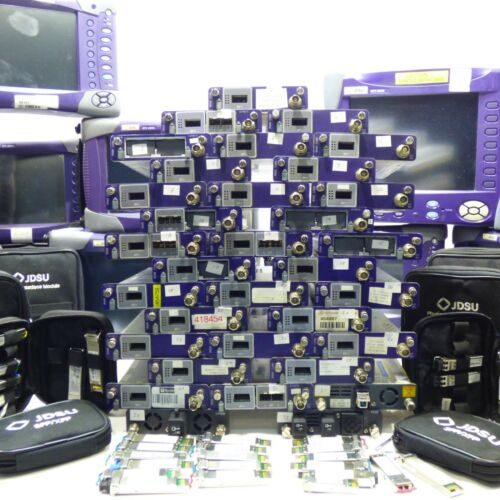 JDSU MSAM C1004 Test Module For MTS T-BERD w/ Multiple Options & Interfaces