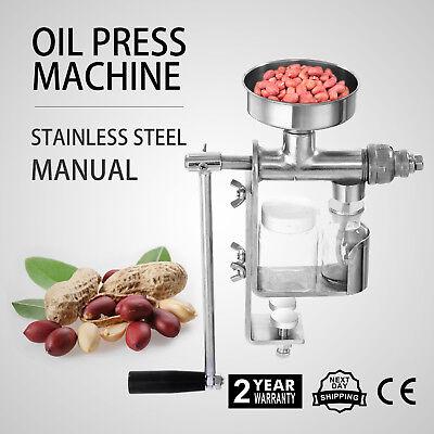 Manual Máquina Prensa Aceite Extractor De Aceite Grado De Comida