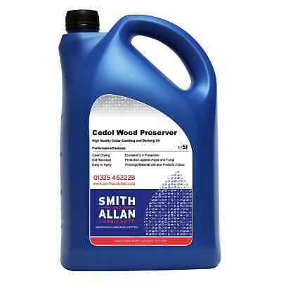 Decking Oil Clear UV Guard 5 Litre 5L