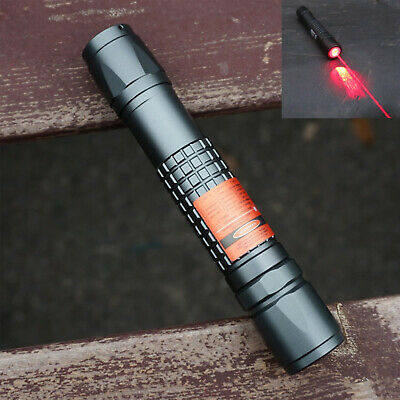 Powerful 635638nm Focusable Waterproof Orange Red Laser Pointer Torch 638t-300