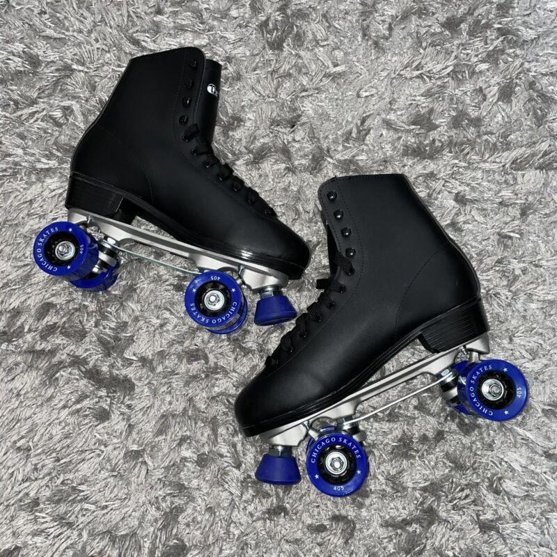 Chicago roller skates Size 11 men black/blue New