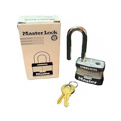 Master Lock 3kalf Laminated Steel Commercial Padlock Key A485 No. 3 Lock Nib