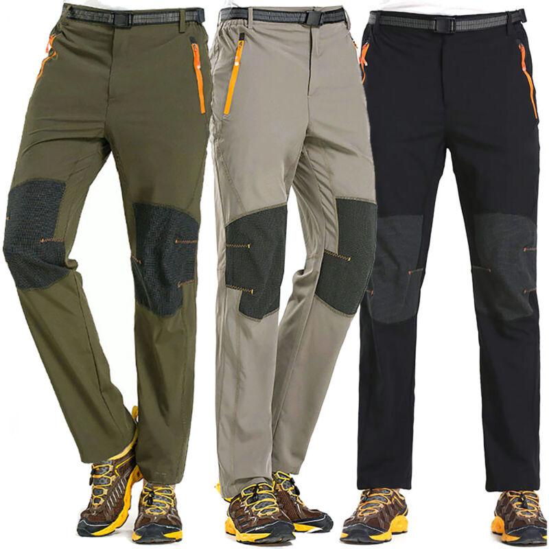 Men's Camping Cargo Work Pants Tactical Climbing