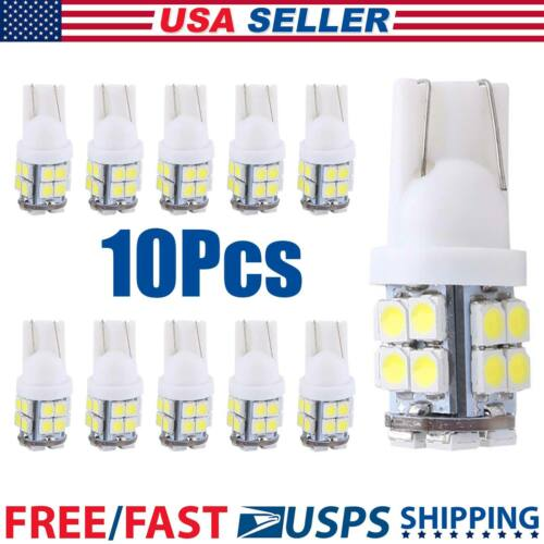 10x T10 20 SMD White Super Bright Car LED Lights Bulb – 194,168,2825,W5W