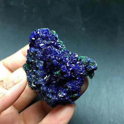 Azurita Malaquita Geoda Cristal Mineral Espécimen Reiki Piedra Preciosa