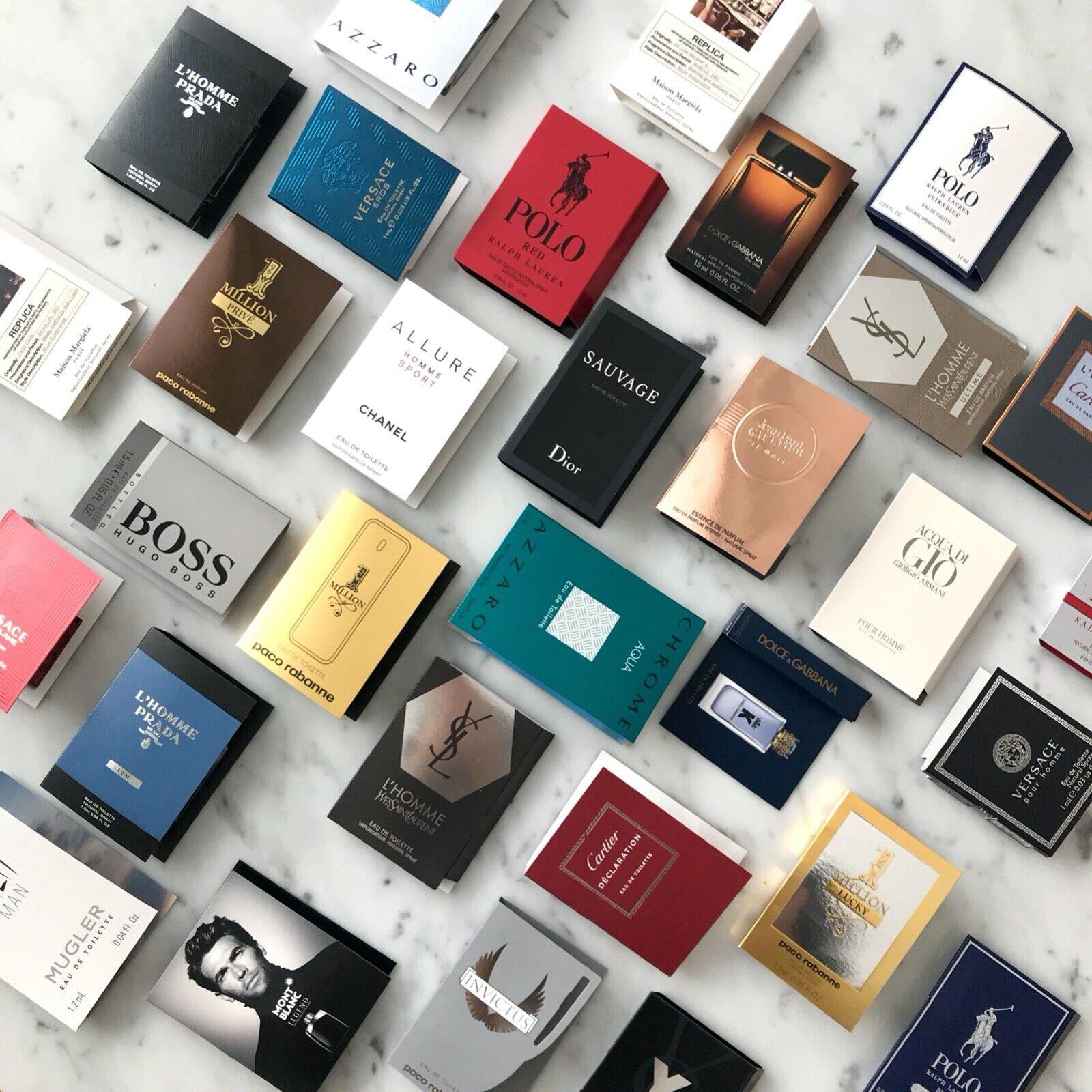 Men Designer Perfume Sample Vials 1 Choose Scents Combined Shipping