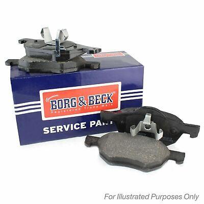 FRONT BRAKE PADS SET BORG & BECK FOR MG MG 3 HATCHBACK 1.5 80KW