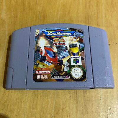 N64 Nintendo 64 - Micro Machines 64 Turbo