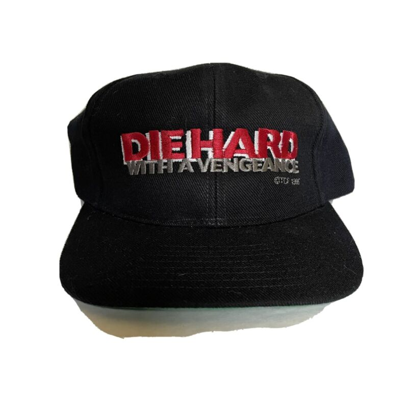 Die Hard With A Vengeance 1995 Movie Hat Promo Cast And Crew SnapBack NWOT