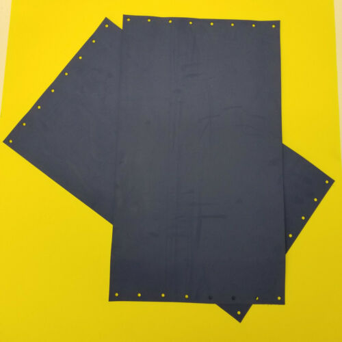 AB Dick 360 series offset press blanket; 18-1/2 x 10-5/8, 3-ply punched, Qty:2