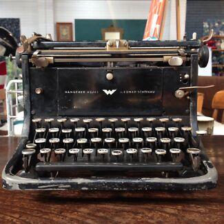 Antique vintage Continental Typewriter