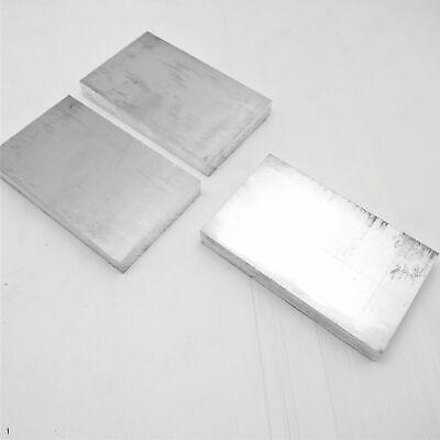 1 Thick Aluminum 6061 Plate 4 X 6 Long Qty 3 Sku 208524
