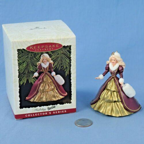 Hallmark Holiday Barbie #4 Keepsake Ornament in Original Box NOS